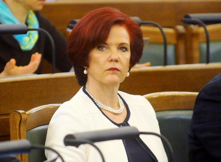Saeimas deputāte Solvita Āboltiņa.