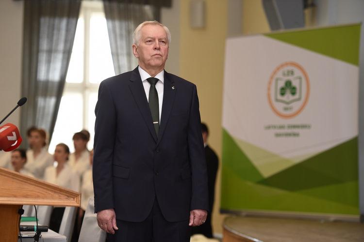 Zaļo un Zemnieku savienības valdes priekšsēdētājs Augusts Brigmanis.