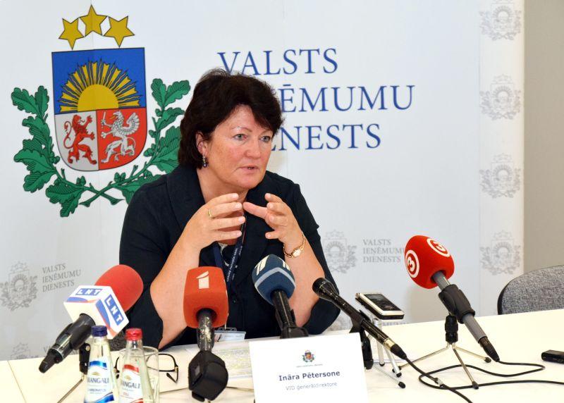 Atlūgumu iesniegusī Valsts ieņēmumu dienesta ģenerāldirektore Ināra Pētersone