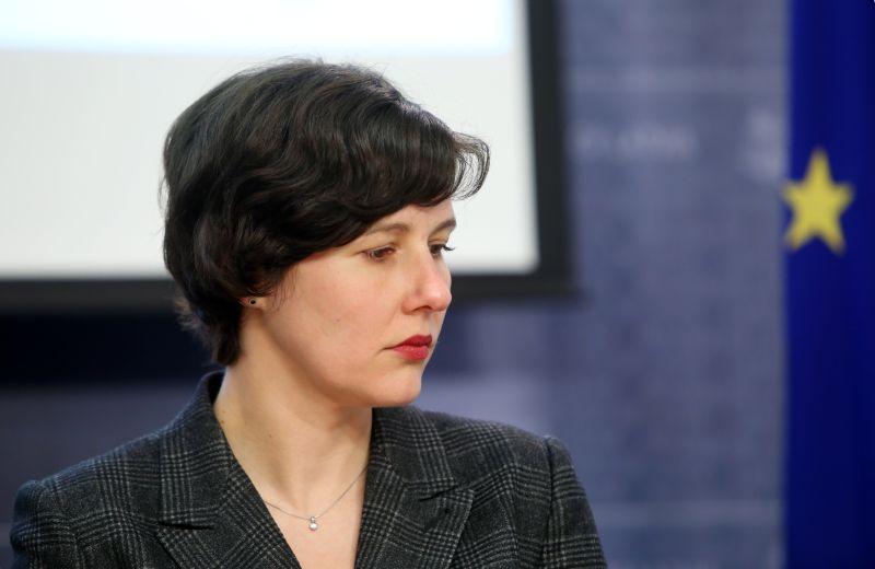 Finanšu ministre Dana Reizniece Ozola