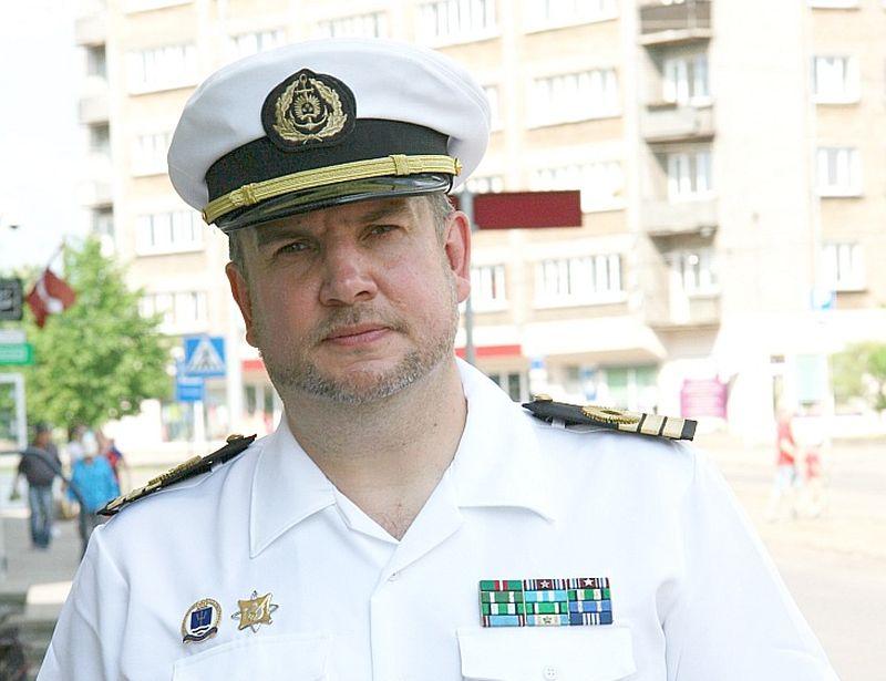 Nacionālo bruņoto spēku (NBS) Ūdenslīdēju skolas bijušais komandieris komandleitnants Jurijs Timofejevs