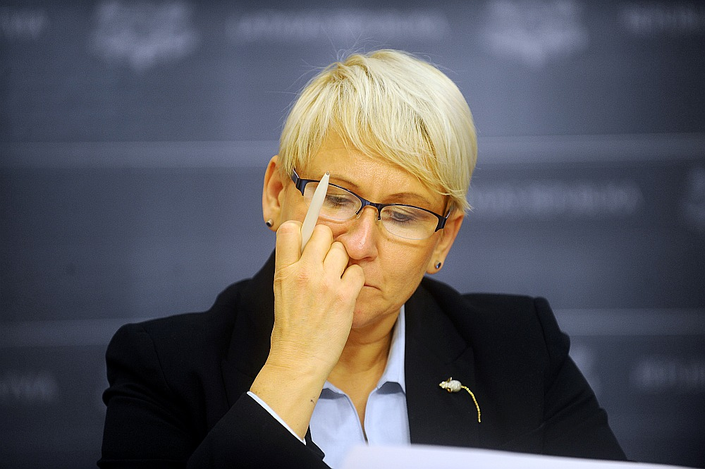"""Labklājības ministrijas valsts sekretāre Ieva Jaunzeme: """"Dzirdam pārmetumus, ka pensiju sistēma Latvijā nedarbojas. Tā darbojas, bet tikai tiem, kas godprātīgi veikuši iemaksas!"""""""