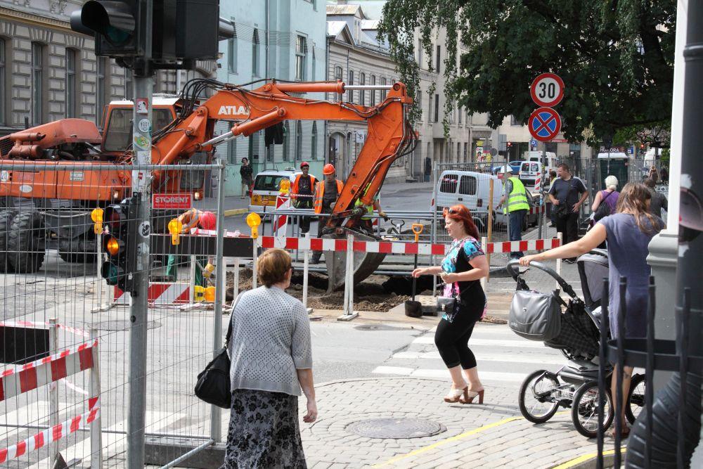 Šā brīža ielu remonti Rīgā
