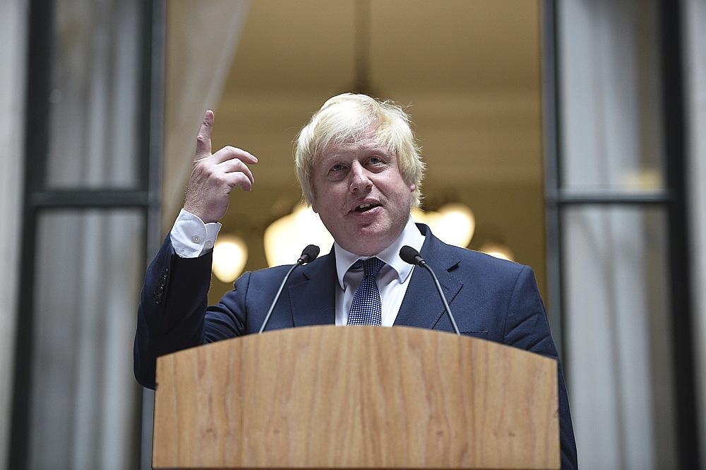 Britānijas ārlietu ministrs Boriss Džonsons