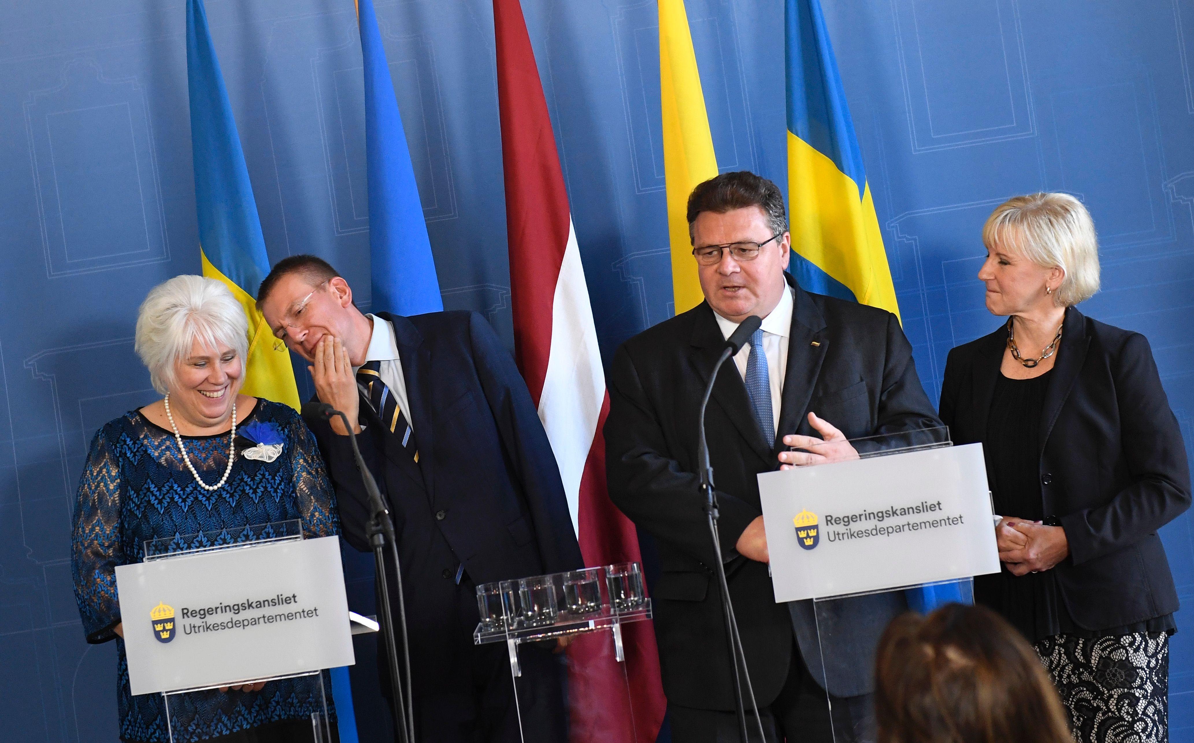 Baltijas un Zviedrijas ārlietu ministri šodien Stokholmā