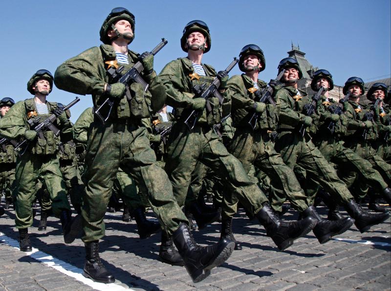 Krievijas karavīri
