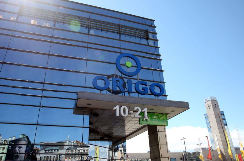 """Tirdzniecības centrs """"Origo""""."""