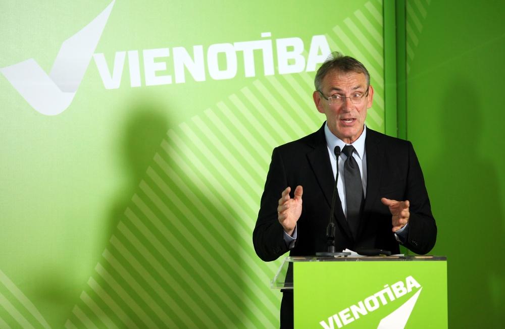 Partijas līderis Andris Piebalgs
