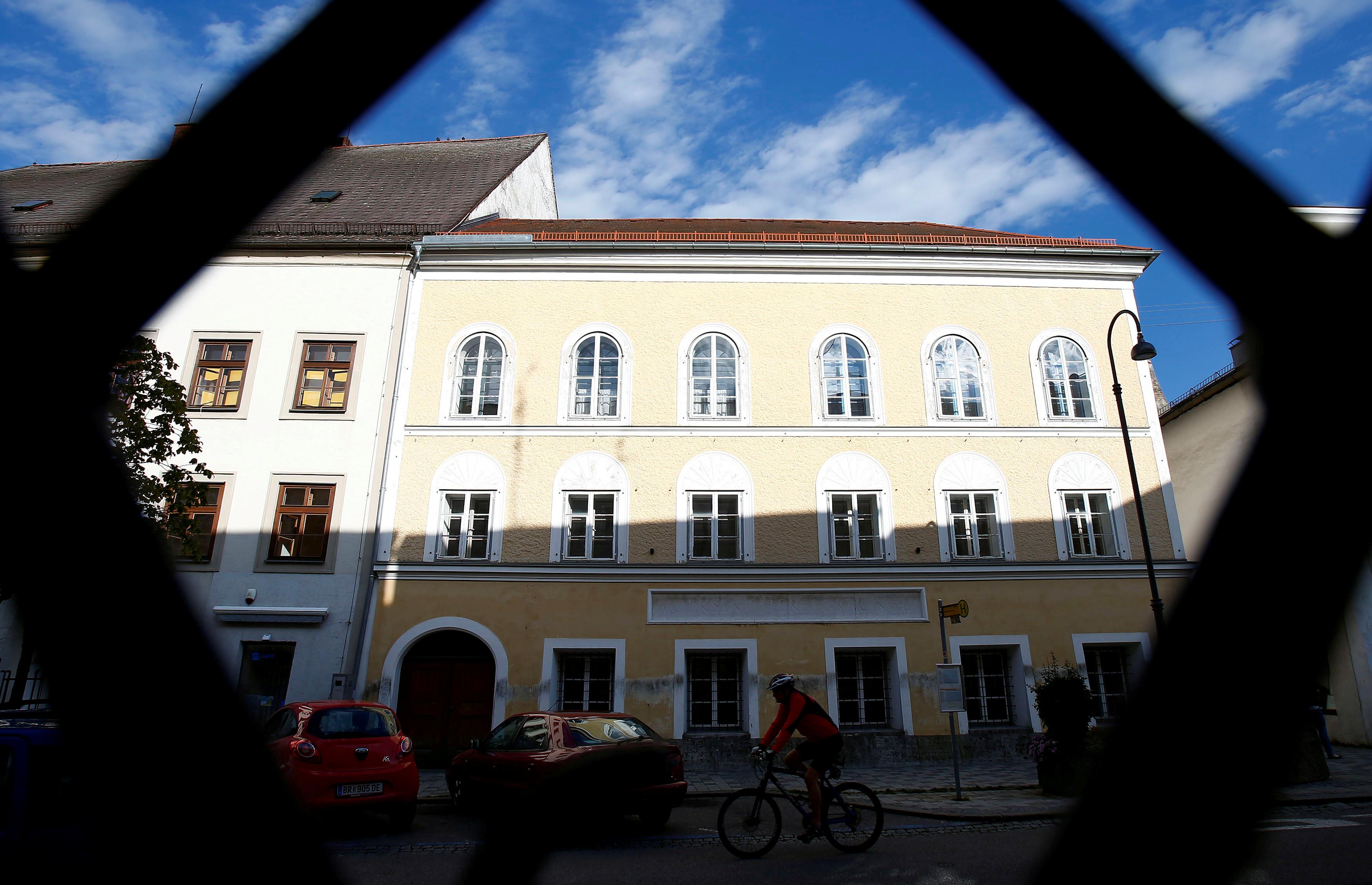 Māja, kurā piedzima Hitlers