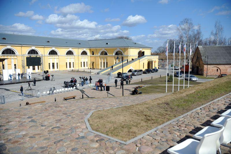Marka Rotko mākslas centrs Daugavpilī.