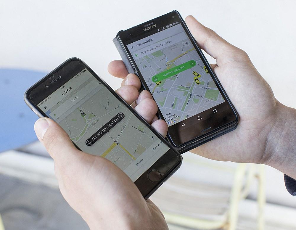 Kopbraukšanas pakalpojumu uzņēmumi ar mobilā tālruņa lietotņu starpniecību apvieno braucējus, lai tie ekonomiskāk nokļūtu galamērķī.