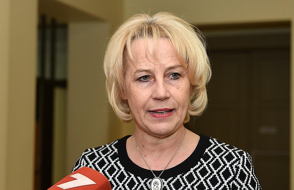 Latvijas Lauku ģimenes ārstu asociācijas vadītāja Līga Kozlovska.