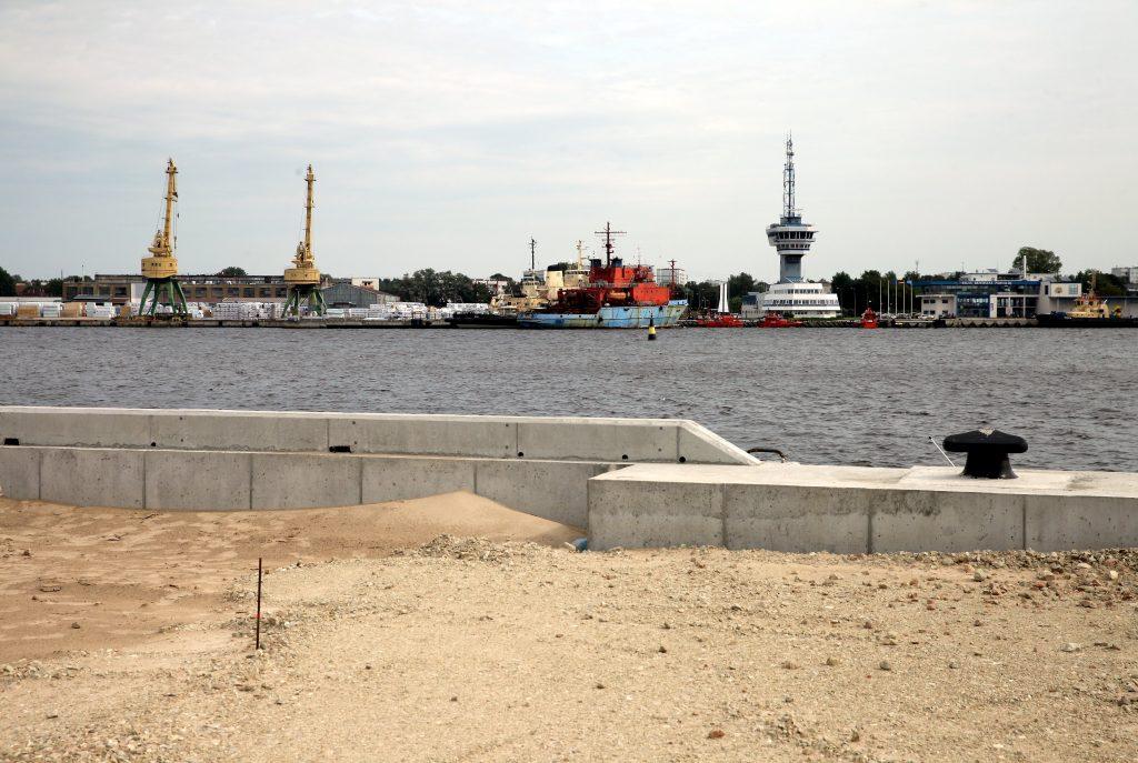 Krievu sala, kur norit infrastruktūras izveidošanas projekta realziācija.