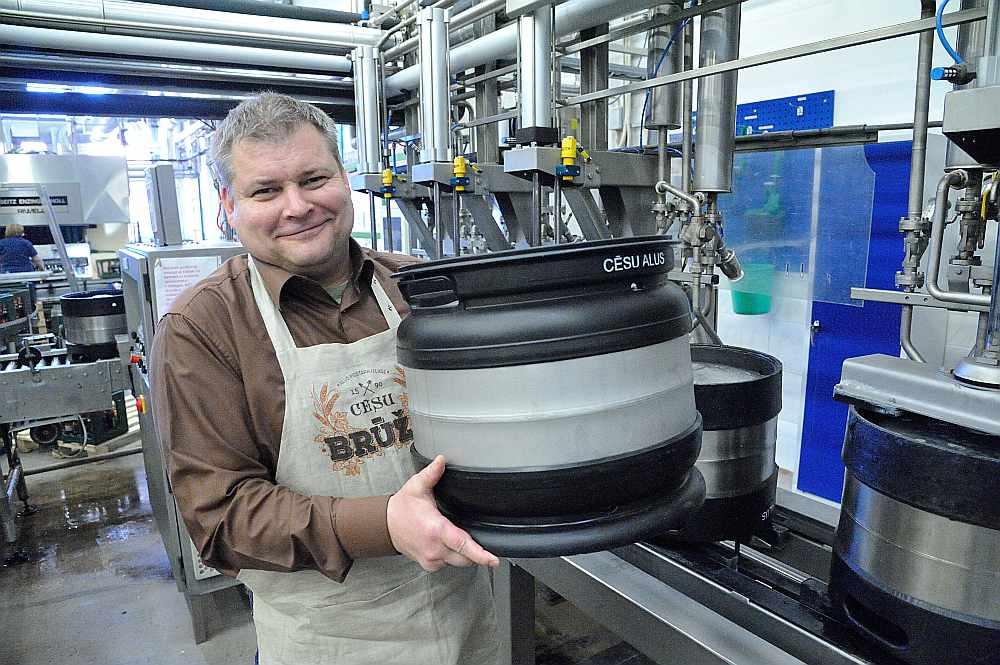 Māris Grambergs ir pārliecināts, ka alus brūžu nekad nevar būt par daudz, īpaši Latvijā.