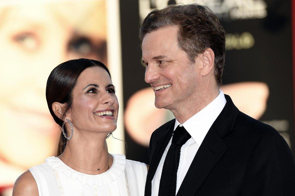 Kolins Fērts ar sievu Līviju Džudžoli.