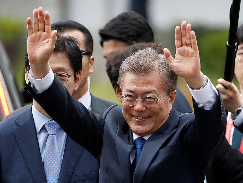Dienvidkorejas prezidents Muns Džēins