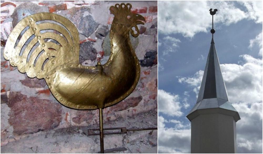Starp elementiem, kuri saņēmuši līdzekļus atjaunošanai, ir Rūjienas baznīcas gailis un bumba.