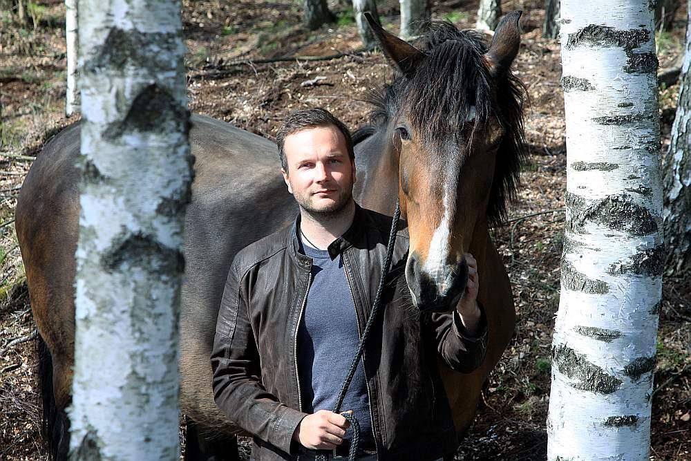 """Jānis Uzulēns zemnieku saimniecības """"Jokas"""" īpašnieks: """"Zirgos es saredzu labu biznesu, tikai, lai to iestartētu, vajag ļoti lielu naudu."""""""