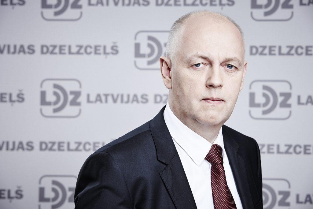 LDZ viceprezidents Aivars Strakšas.