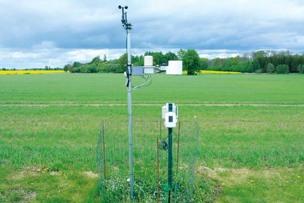 Meteostacija zemnieku saimniecības Vilciņi 1 laukā