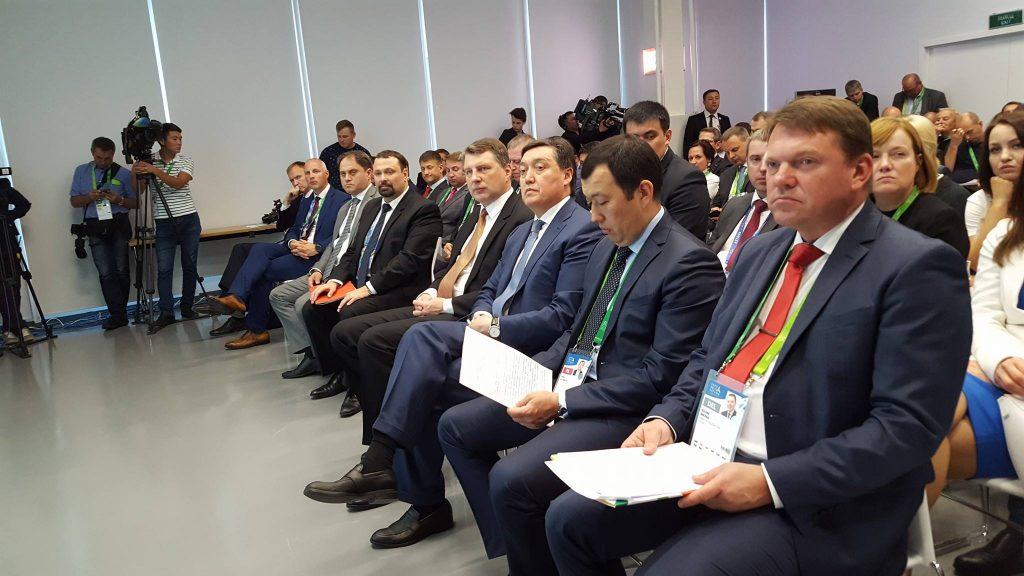 """Astanas konferencē """"Globālās transporta kustības vīzija. Eirāzijas potenciāls"""""""