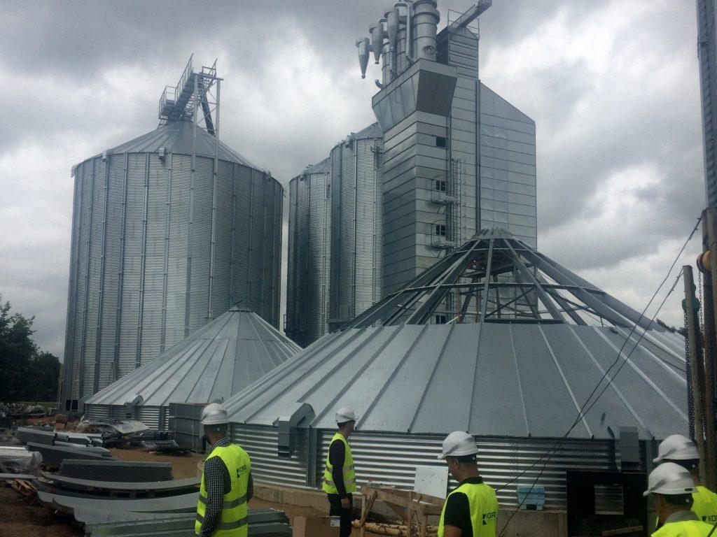 """""""Balticovo""""  jaunais graudu pieņemšanas komplekss Bēnē"""