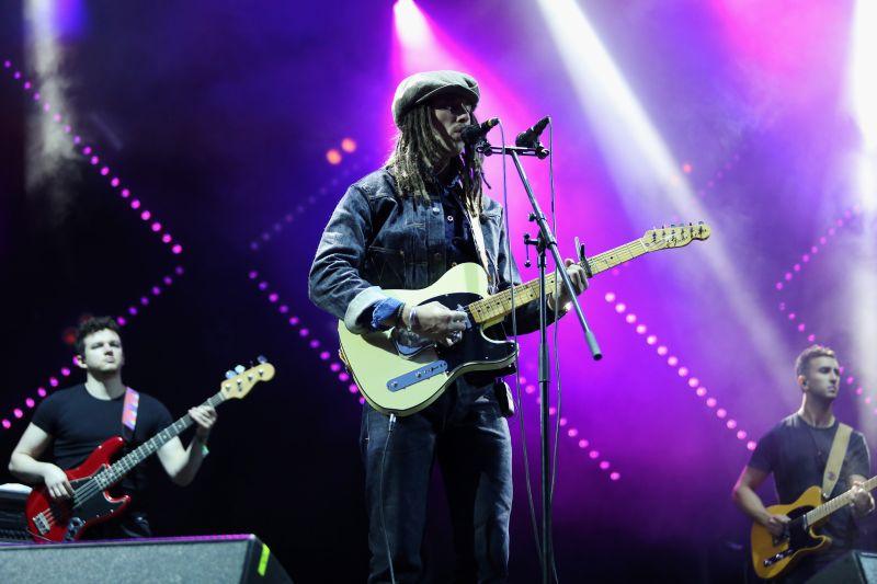 """Mūziķis JP COOPER uzstājās """"Positivus"""" festivālā Salacgrīvā."""