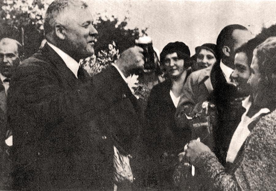 Viesojoties Latgalē 1934. gadā.