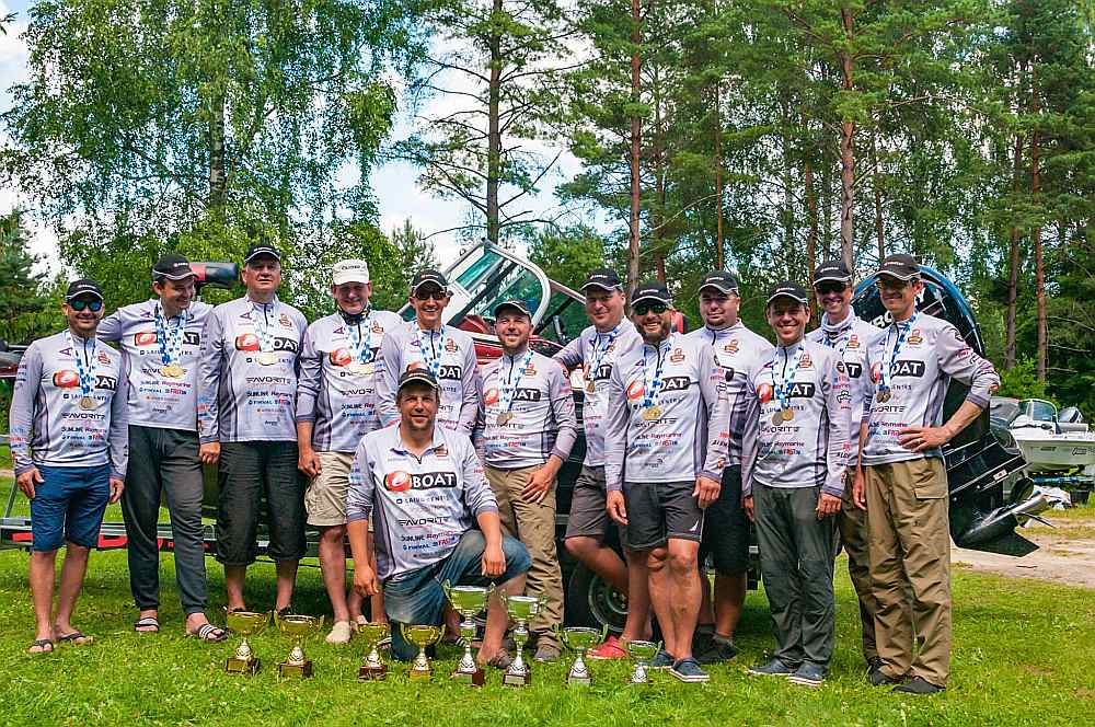 """Eboat Fishing Team"" (""EFT"") 1. un 2. komanda."