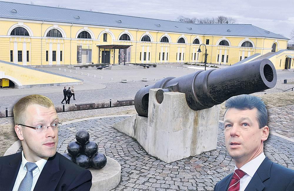 Gan Andrejam Elksniņam (no kreisās), gan Rihardam Eigimam ambīcijas ir lielas, starp abiem nekādu simpātiju nav, tāpēc kauja par varu Daugavpilī turpināsies.