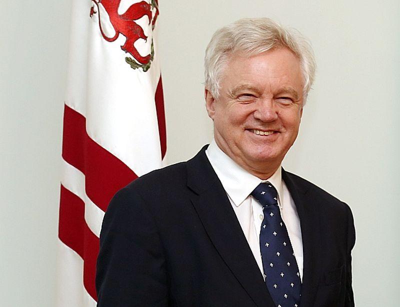 Deivids Deiviss, Apvienotās Karalistes izstāšanās no ES ministrs