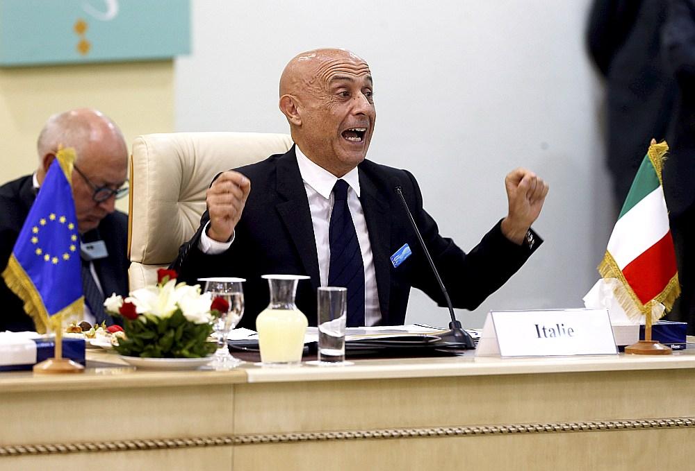 Itālijas iekšlietu ministrs Marko Minniti