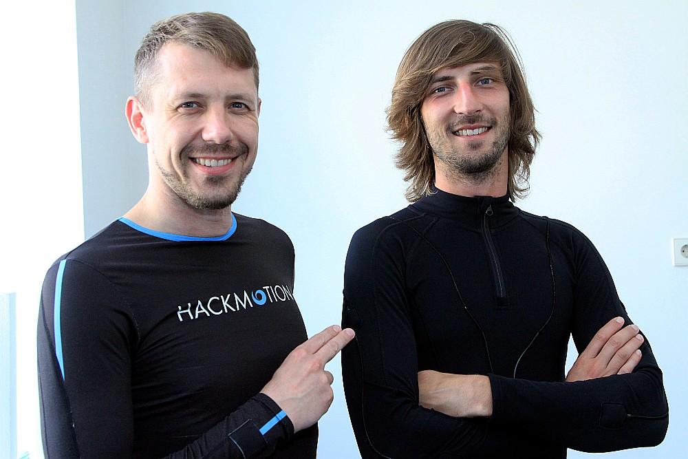 Atis Hermanis (no labās) un Jānis Linde ir ceļā uz to, lai pārsteigtu pasaules sporta sabiedrību.