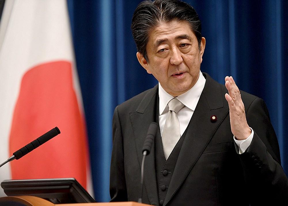 Japānas premjerministrs Sindzo Abe