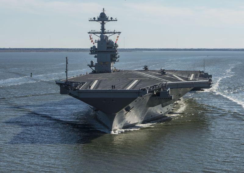 """Pasaules lielākais karakuģis – """"USS Gerald R.Ford"""""""