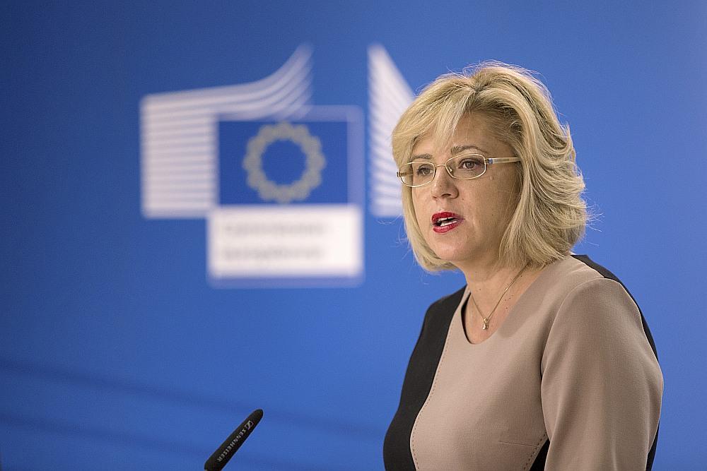 Korina Krecu, ES reģionālās politikas komisāre