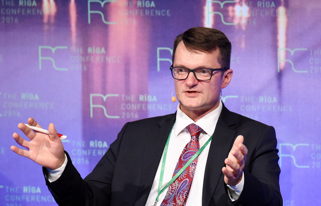 Aizsardzības ministrijas valsts sekretārs Jānis Garisons