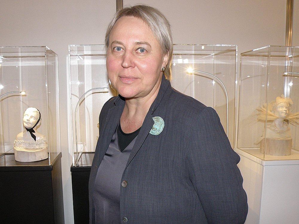 Ināra Liepa nu jau vairāk nekā 20 gadus veltījusi profesionālas leļļu mākslas attīstībai.