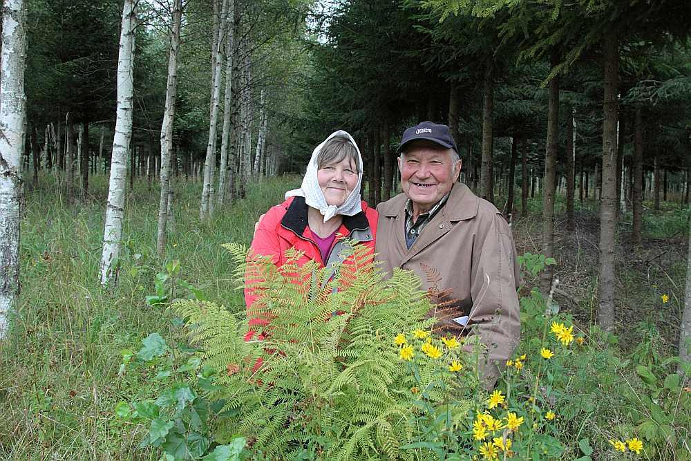 Kārlis Martinsons ar dzīvesbiedri Vizmu uz savu mežu nāk ne tikai strādāt, bet arī atpūsties.