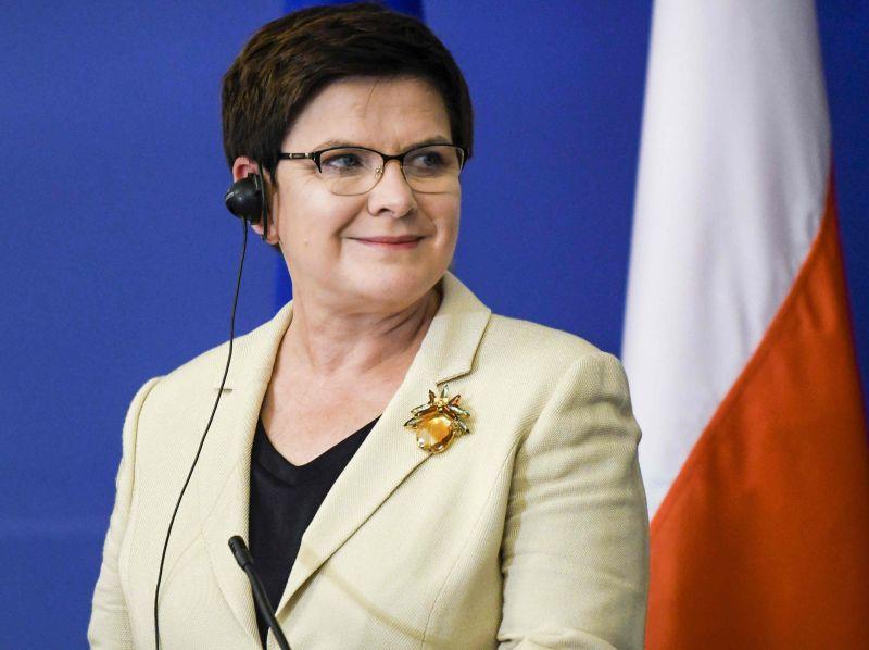 Polijas premjerministre Beāta Šidlo
