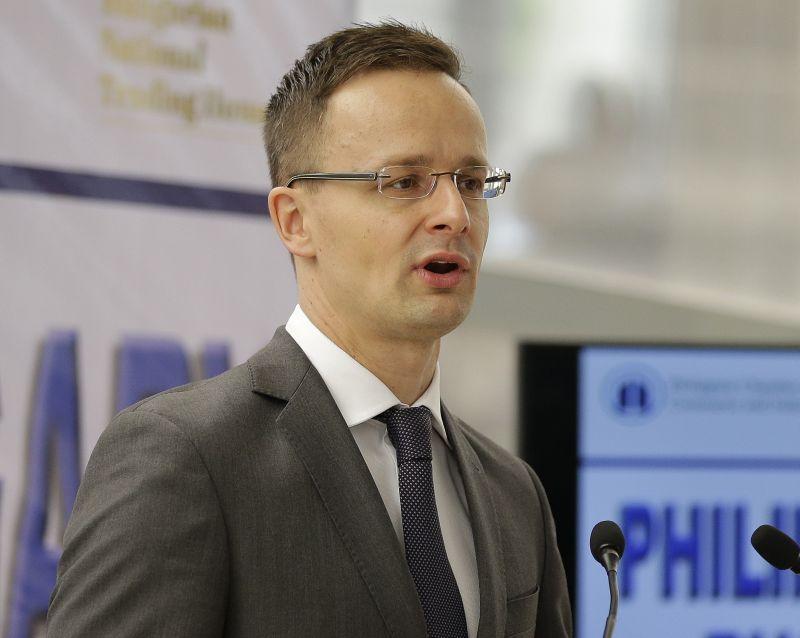 Ungārijas ārlietu ministrs Pēters Sijārto
