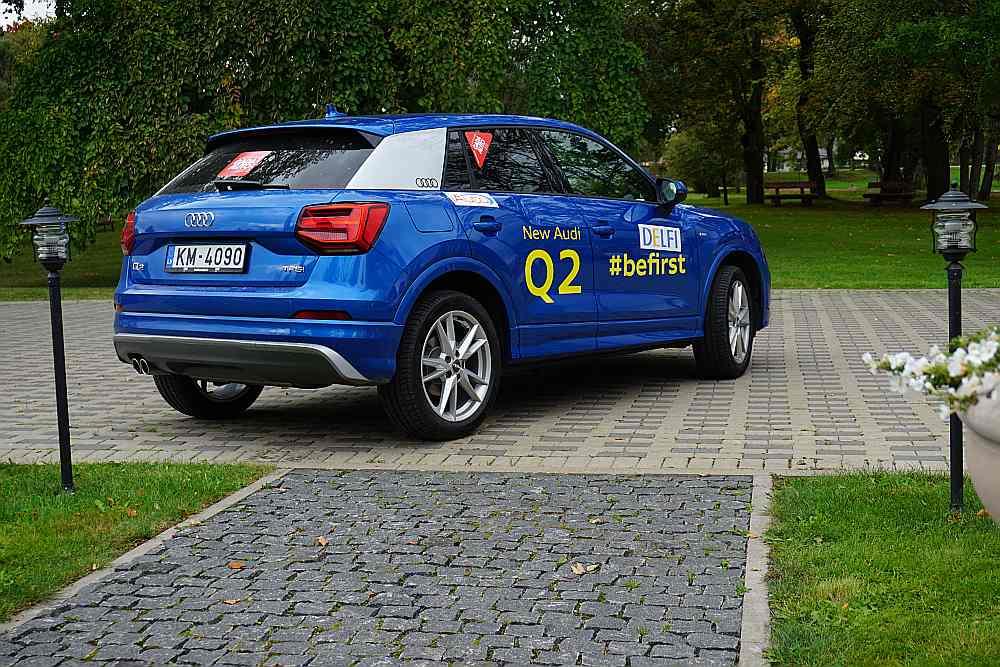 """Audi Q2"". Ata Jansona izvēle: Gribu"