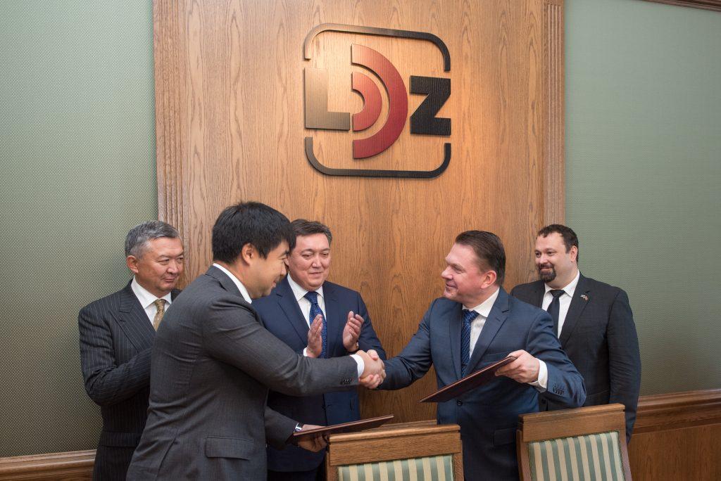 Kazahstānas vicepremjera tikšanās ar LDz prezidentu Edvīnu Bērziņu