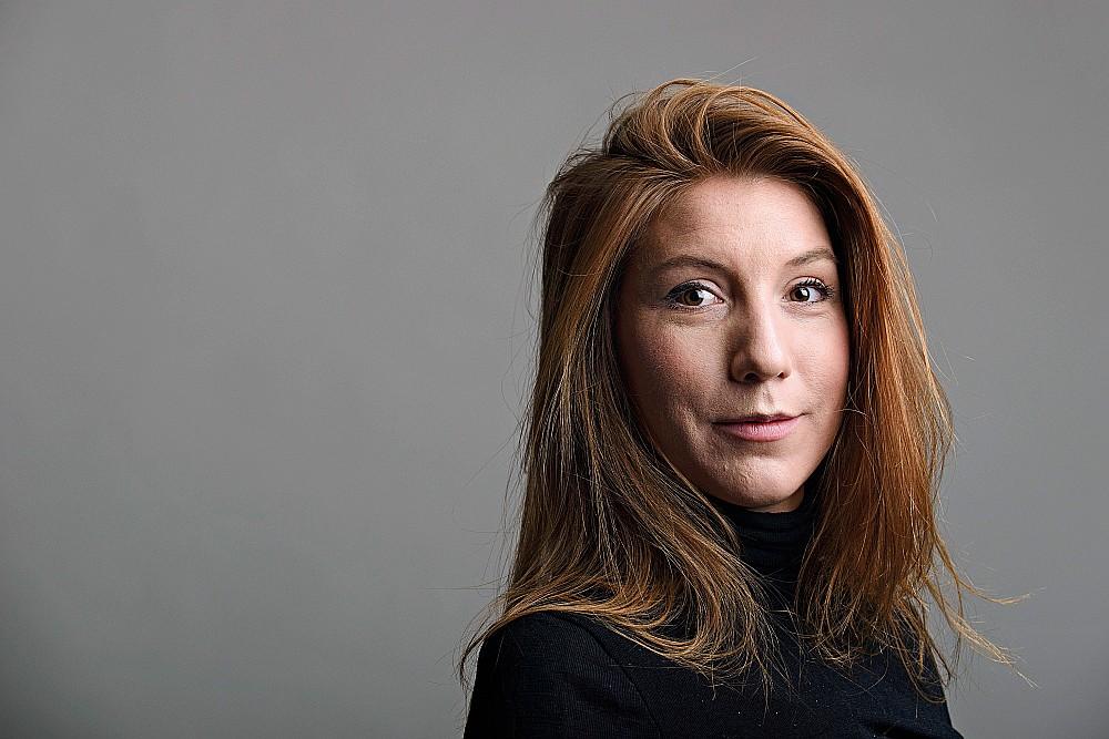 Zviedru žurnāliste Kima Valla.