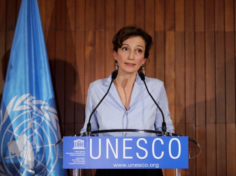UNESCO ģenerāldirektore Odrija Azulē