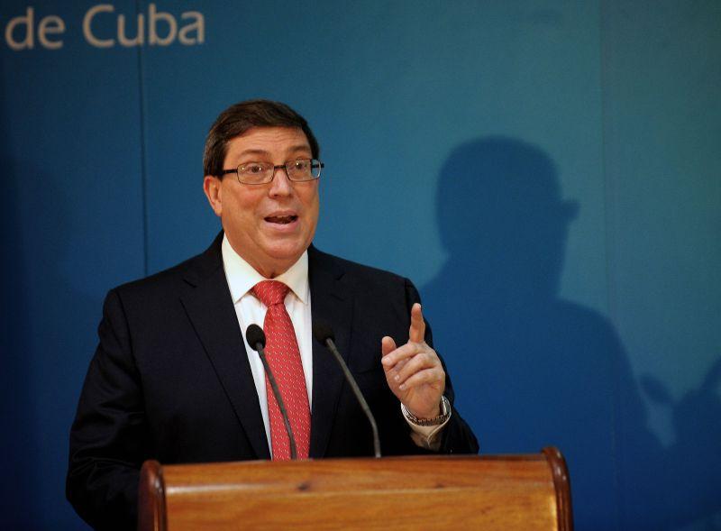 Kubas ārlietu ministrs Bruno Rodrigess