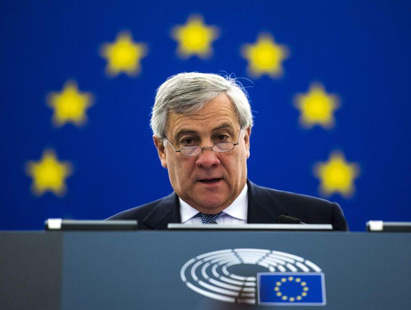 Antonio Tajāni, Eiropas Parlamenta priekšsēdētājs