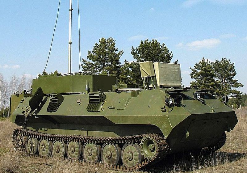"""Viens no Krievijas modernākajiem elektroniskās karadarbības ieročiem – sistēma """"Borisogļebsk-2"""", kurai ir gan izlūkošanas, gan sakaru slāpēšanas spējas."""