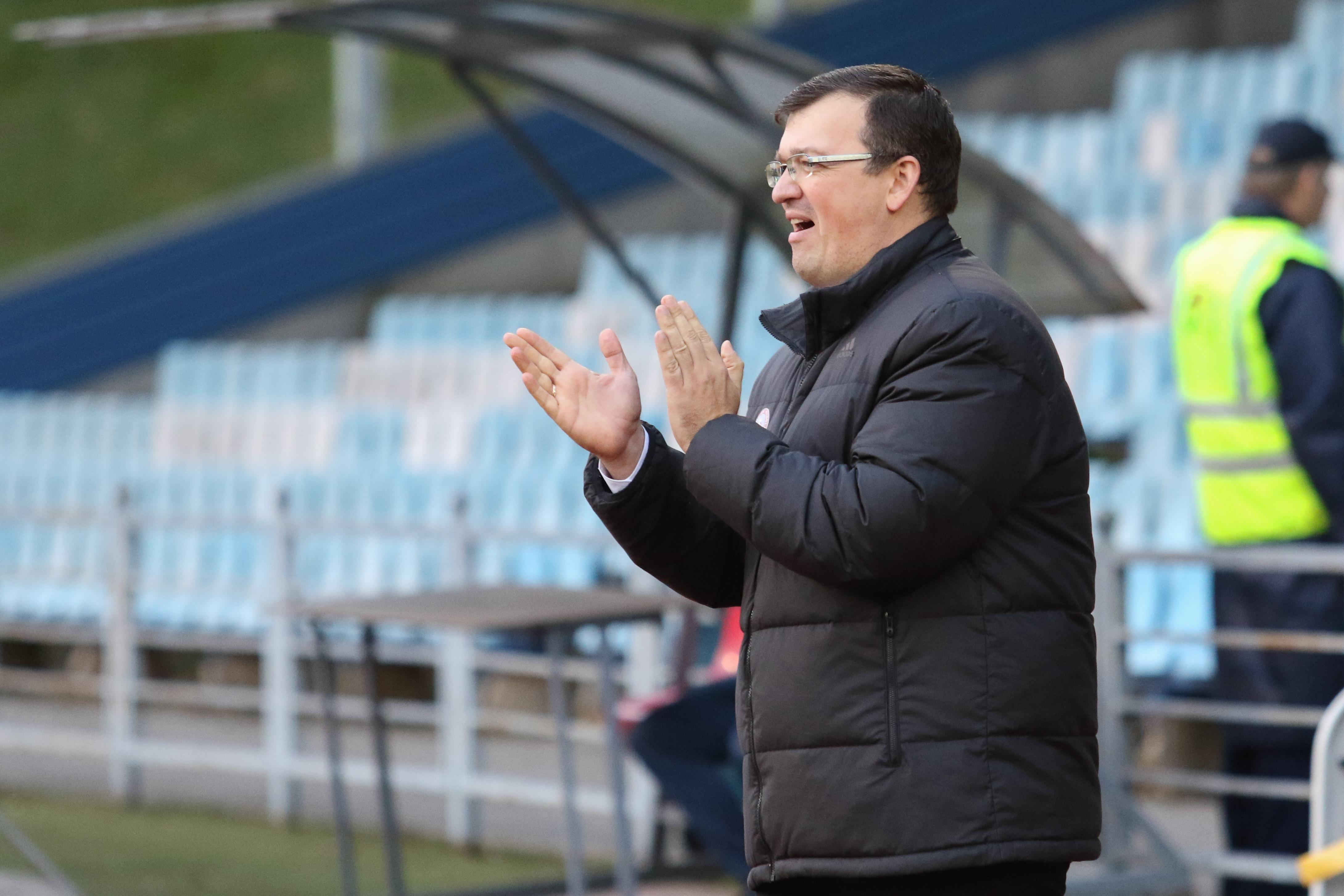 Latvijas U-21 izlases galvenais treneris Dainis Kazakevičs