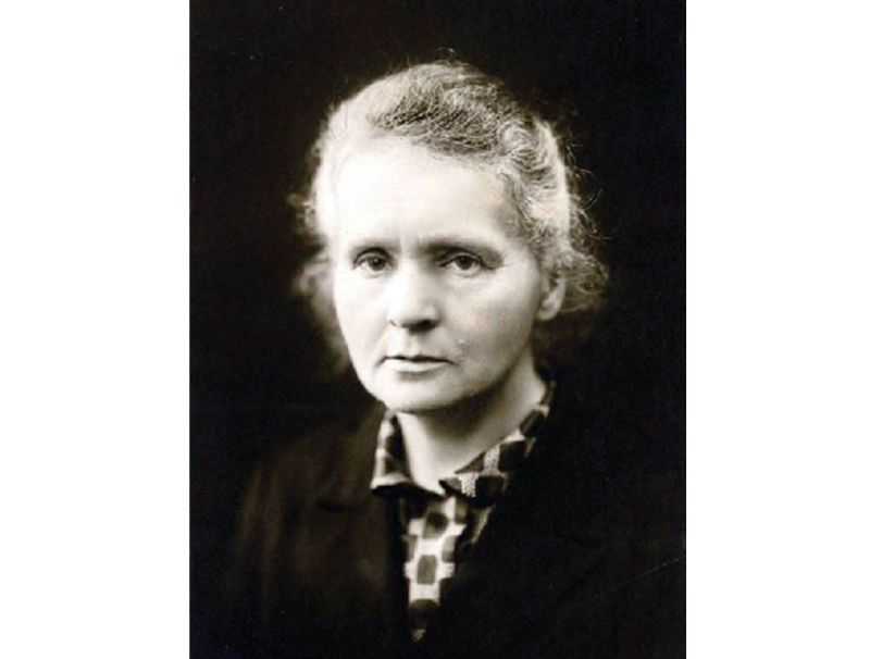 Marija Sklodovska-Kirī (1867 – 1934).